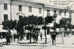Piazza Leonardo di Capua - arrivo del reggimento