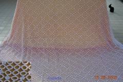 Coperte realizzate a mano con la tecnica dell'uncinetto 1