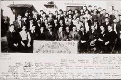 Membri del Club Bagnoli Irpino, U.S.A. 1932