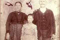 1885 - Passaporto per l'America Famiglia Clemente