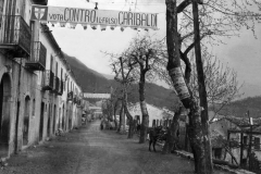 Foto anni 195060 di Bagnoli Irpino - Via De Rogatis